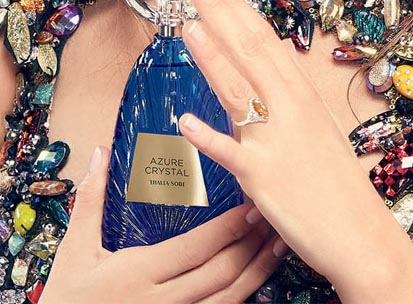Azure Crystal by Thalia Sodi