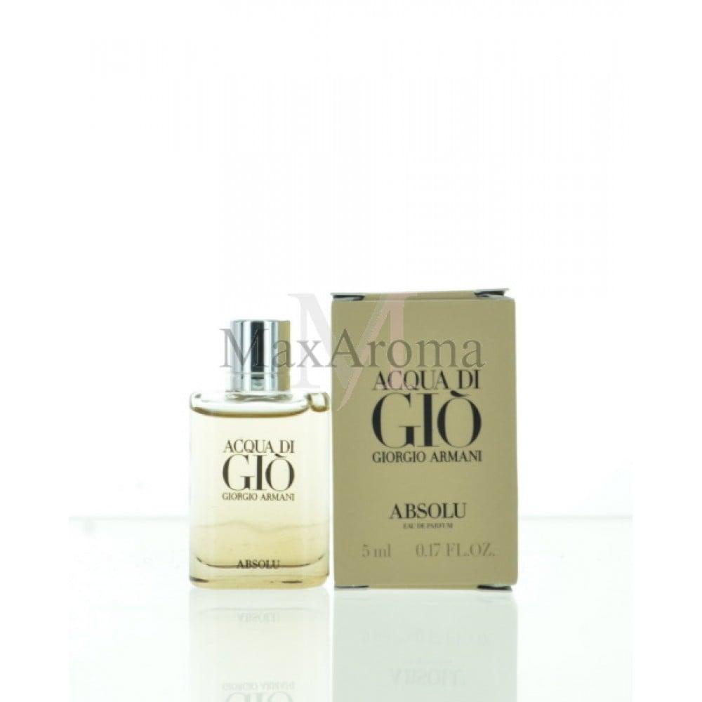 Giorgio Armani Acqua Di Gio Absolu Cologne Eau De Parfum Mini 5ml