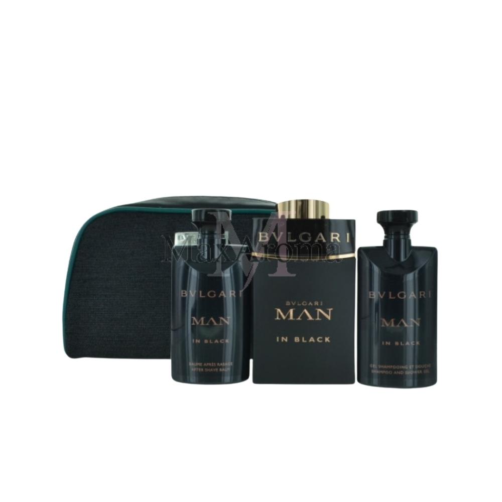 d2b033f4e0b Detalles acerca de Bvlgari Man In Black Eau de Parfum Conjunto de regalo de  4 piezas este conjunto incluye un..- mostrar título original