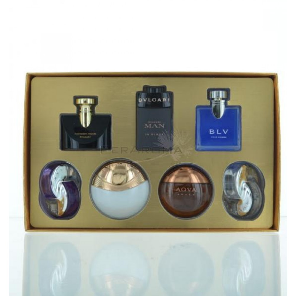 Bvlgari The Iconic Miniature Collection 7 Piece Mini Perfumes For