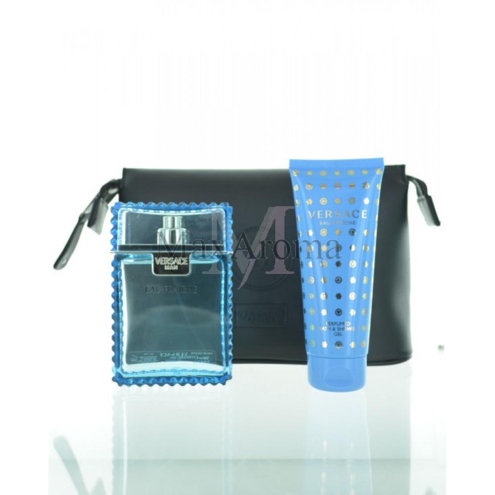 Details about Versace Eau Fraiche Gift Set For Men 3 Pieces Gift Set100 Ml  3.4oz Eau De Toi. c78a99fd6a433