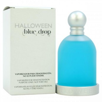 Halloween Blue Drop by J. Del Pozo