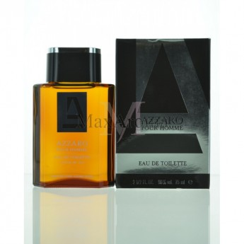 Azzaro Pour Homme Eau De Toilette 25 Oz For Men Maxaromacom