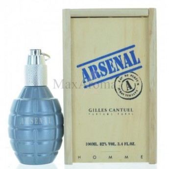 Arsenal Blue by Gilles Cantuel
