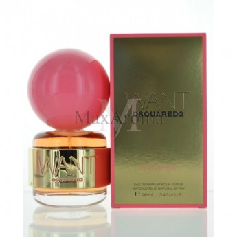 Want Pink Ginger by Dsquared2