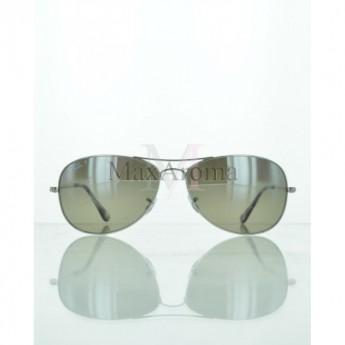 e13f250ef90 Ray Ban RB3543 003 5J Polarized Silver Lenses Sunglasses