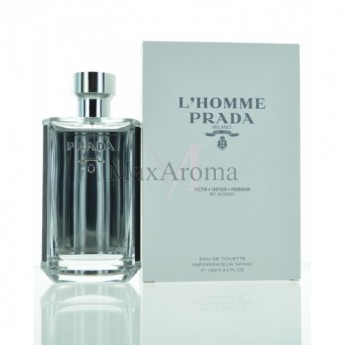 L Homme by Prada Eau de Toilette Tester 3.4 oz  Maxaroma.com 65faae8d821c
