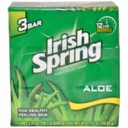 Irish Spring Aloe Deodorant Soap Unisex