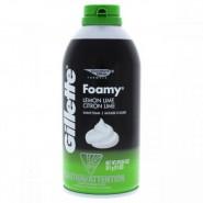 Gillette Comfort Glide Foamy Lemon Lime Shave..