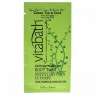 Vitabath Green Tea & Sage Body Wash Unisex