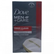 Dove Deep Clean Body and Face Bar For Men