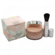 Clinique Blended Face Powder and Brush # 04 Transparency 4 (M)