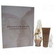 Donna Karan Cashmere Aura For Women Gift Set