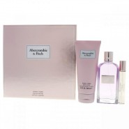 Abercrombie And Fitch First Instinct For Women 3 Pc Gift Set