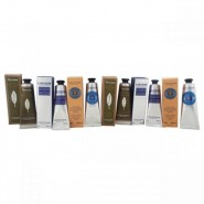 Happy Hand Cream 6 pc  Kit By Loccitane For Unisex