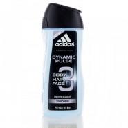 Coty Adidas Dynamic Pulse  Hair Body & Face Wash