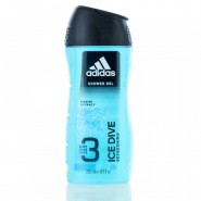 Coty Adidas Ice Dive Hair Body & Face Gel for Men