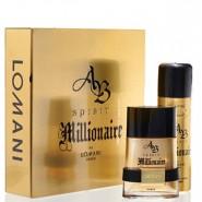 Lomani Ab Spirit Millionaire for Men Gift Set