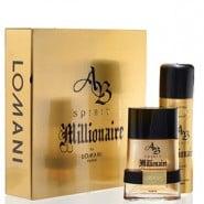 Lomani Ab Spirit Millionaire Gift Set