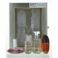 calvin klein 4 piece perfume Mini Set  for Wo..