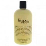 Philosophy Lemon Custard Shampoo ,Shower Gel & Bubble Bath