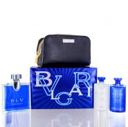 Bvlgari Blv Pour Homme for Men Gift Set