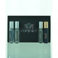 Versace miniatures Set 4 pieces Men Perfume Set Eau de Toilette 0.17 oz Spray