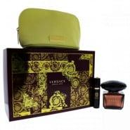 Versace Crystal Noir 3 Pc Gift Set
