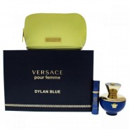 Versace Dylan Blue For Women 3 Pc Gift Set
