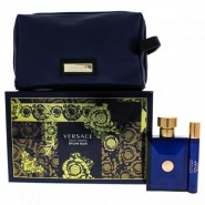Versace Dylan Blue  For Men 3 Pc Gift Set
