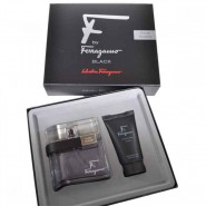 Salvatore Ferragamo F Black Gift Set for Men