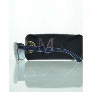 Ray Ban RB3530 004/8G Gunmetal Blue, Grey Lenses Sunglasses
