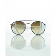 Ray Ban  RB 3647N 001/9U round double bridge Sunglasses