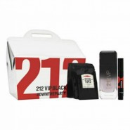 Carolina Herrera 212 Vip Black for Men Gift Set