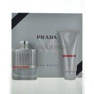 Prada Luna Rossa Pour Homme Gift Set for Men