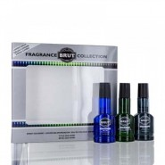 Faberge Brut Gift Set for Men (3 PC