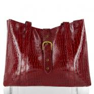 Elizabeth Arden Tote Bag (Burgandy Crocodile)